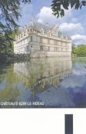 Ticket D´entrée : Château D' Azay-le-Rideau (Indre-et-Loire), 2 Scans, TBE - Tickets D'entrée
