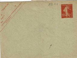 Enveloppe 138 E 1 Non Utilisée, 124 X 93 Mm - Postal Stamped Stationery
