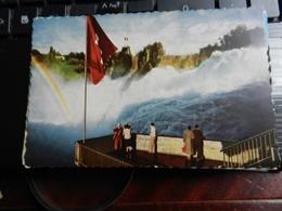 19807) RHEINFALL VON FISCHETZ AUS VIAGGIATA 1962 BELLISSIMA - SH Schaffhouse