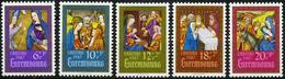 Luxembourg - 1987 - Visitation - Adoration Des Mages - Fuite En Egypte - Neufs - Bienfaisance - Religious