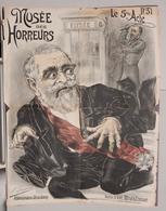 MUSEO DEGLI ORRORI  MUSEE DES HORREURS  Di V. LENEPVEU N.31 LE 5eme ACTE - Vecchi Documenti