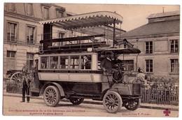 3233 - Omnibus Automobile -  De La Compagnie Générale Des Omnibus - ( Système Eugène Brillié ) - - Bus & Autocars
