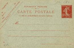 Carte Neuve 160 CP 1 , Date 129, 137 X 88 Mm, - Entiers Postaux