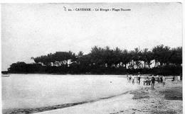 CAYENNE Le Rivage-plage Buzaret - Cartes Postales