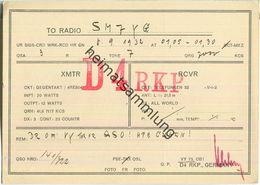 QSL - QTH - D4RKP - 1932 - Amateurfunk