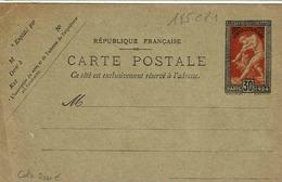 Carte 185 CP 1 ,  Pas De Date, 137 X 88 Mm,  Non Utilisée - Entiers Postaux