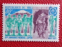 MALI 1971 Y&T N° 155 ** - 13e JAMBOREE MONDIAL AU JAPON - Malí (1959-...)
