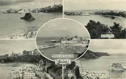 Royaume-Uni - Pays De Galles - Tenby - Multivues - Semi Moderne Petit Format - Bon état - Pays De Galles