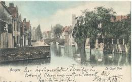 Brugge - Bruges - Le Quai Vert - Nels Serie 12 No 99 - 1903 - Brugge