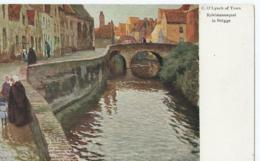 Brugge - Bruges - C.O. Lynch Of Town - Spielmannsquai In Brugge - Palette-Karte No 106 - 1937 - Brugge