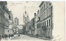 Ieper - Ypres - Rue De Lille - Série 12 Nr 17 - Editeur Albert Sugg - 1903 - Ieper