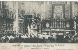 Mechelen - Malines - Cérémonie Du Sacre De Mgr Mercier - 1907 - Malines