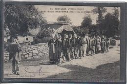Carte Postale 56. Pontivy  Une Noce Bretonne   Très Beau Plan - Pontivy