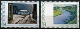 Luxembourg - 1994 - Tableaux - Joseph Kutte - Nico Klopp - Neufs - Art