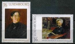 Luxembourg - 1996 - Tableaux - Edouard Charlemont - Munkacsy - Neufs - Art