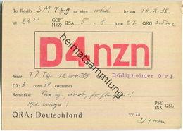 QSL - QTH - D4NZN - 1932 - Amateurfunk