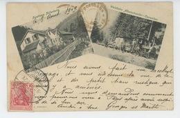 ALBERSCHWEILER - ABRESCHVILLER - Waldbahn ALBERSCHWEILER - CAPWEIHER  & FORSTHAUS NOLLENBURG (1909) - France
