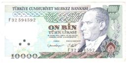 Turkey 10000 Lire Lirasi 1970 Turchia 10.000 - Turquie