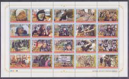 PAKISTAN 2018 - KASHMIR MARTYR's DAY, (Atrocities In IOK Indian Occupied Kashmir), Big Miniature Sheet Of 20v. MNH - Pakistan