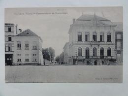 Beveren, Gemeentehuis En Statiestraat FELDPOST WW1 1915 - Beveren-Waas