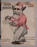 MUSEO DEGLI ORRORI  MUSEE DES HORREURS  Di V. LENEPVEU N.20 BOUM BOUM MADAME - Vecchi Documenti