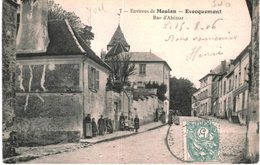 EVECQUEMONT .... RUE D AHEMAR - France