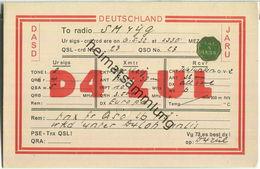 QSL - QTH - D4ZUL - 1932 - Amateurfunk