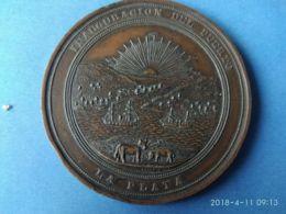 Argentina Inaugurazione Del Porto La Plata 1890 - Royal / Of Nobility