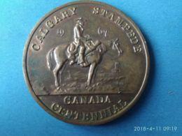 Canada Calgary 1967 - Monarquía / Nobleza