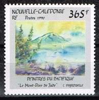 Neukaledonien 1990, Michel# 890 ** Le Mont-Dore Jade By C. Degroiselle - Art