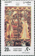 Ref. 305475 * NEW *  - EGYPT . 1997. 75 ANIVERSARIO DEL DESCUBRIMIENTO DE LA TUMBA DEL FARAON TUTANKAMON - Egypt