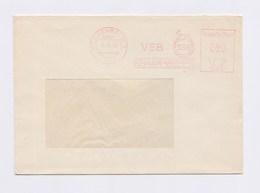 DDR AFS - REICHENBACH, VEB Renak Werke 31.10.85 - Machine Stamps (ATM)