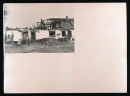 MUNTE    FOTO 1973 - 17 X 13 CM -WONING UITGEBRAND -ASSELKOUTER 19 - Merelbeke