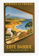 COTE BASQUE - Affiche SNCF - Lavielle 6590 - Vierge - Tbe - Publicité