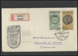 CZECHOSLOVAKIA Brief Postal History Envelope CS 265 1100 Years Of Moravia Archaeology - Czechoslovakia