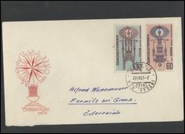 CZECHOSLOVAKIA Brief Postal History Envelope CS 266 International Brno Fair - Czechoslovakia