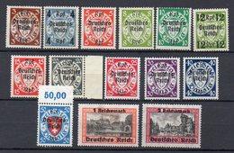 GERMANIA Reich 1939  Francobolli Nuovi Con Linguella MH  /* In Serie Completa. - Collections (without Album)