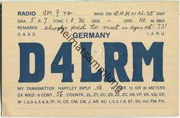 QSL - QTH - D4LRM - 1931 - Amateurfunk