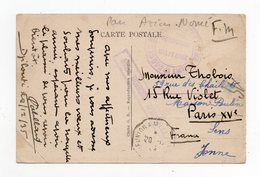 !!! PRIX FIXE : COTE DES SOMALIS, CPA DE 1935 EN FRANCHISE MILITAIRE, GRIFFE AVISO DUMONT D'URVILLE - Lettres & Documents