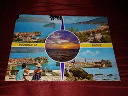 BUDVA, MONTENEGRO, ORIGINAL VINTAGE POSTCARD - Montenegro