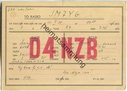 QSL - QTH - D4NZB - 1931 - Amateurfunk
