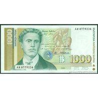 TWN - BULGARIA 105a - 1000 1.000 Leva 1994 Prefix AИ UNC - Bulgaria