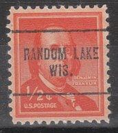USA Precancel Vorausentwertung Preo, Locals Wisconsin, Random Lake 704 - Vorausentwertungen