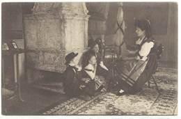Cpa En Alsace Reconquise - La Petite Famille ...  ( S 3362 ) - France