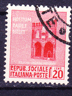 Italien Italy Italie - Loggia Dei Mercanti, Bologna (MiNr: 652) 1944 - Gest Used Obl - Used