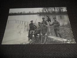 Bellem ( Aalter ) Carte Photo Allemand  Duitse Fotokaart  Duitse Soldaten Oorlog - Aalter