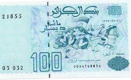 ALGERIA 100 DINARS 1992 P-137 UNC - Algérie