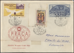 CZECHOSLOVAKIA Brief Postal History Envelope CS 278 World Philatelic Exhibition Prague 1962 - Czechoslovakia