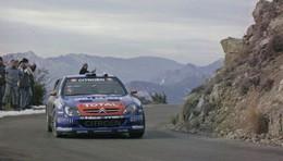 Citroen Xsara WRC  -  Rallye Monte-Carlo 2006  -  Pilote: Sebastien Loeb    -  15x10cms PHOTO - Rally Racing