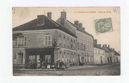 La Chapelle La Reine. Hôtel De L'Etoile. Personnages En Terrasse. (3153) - La Chapelle La Reine